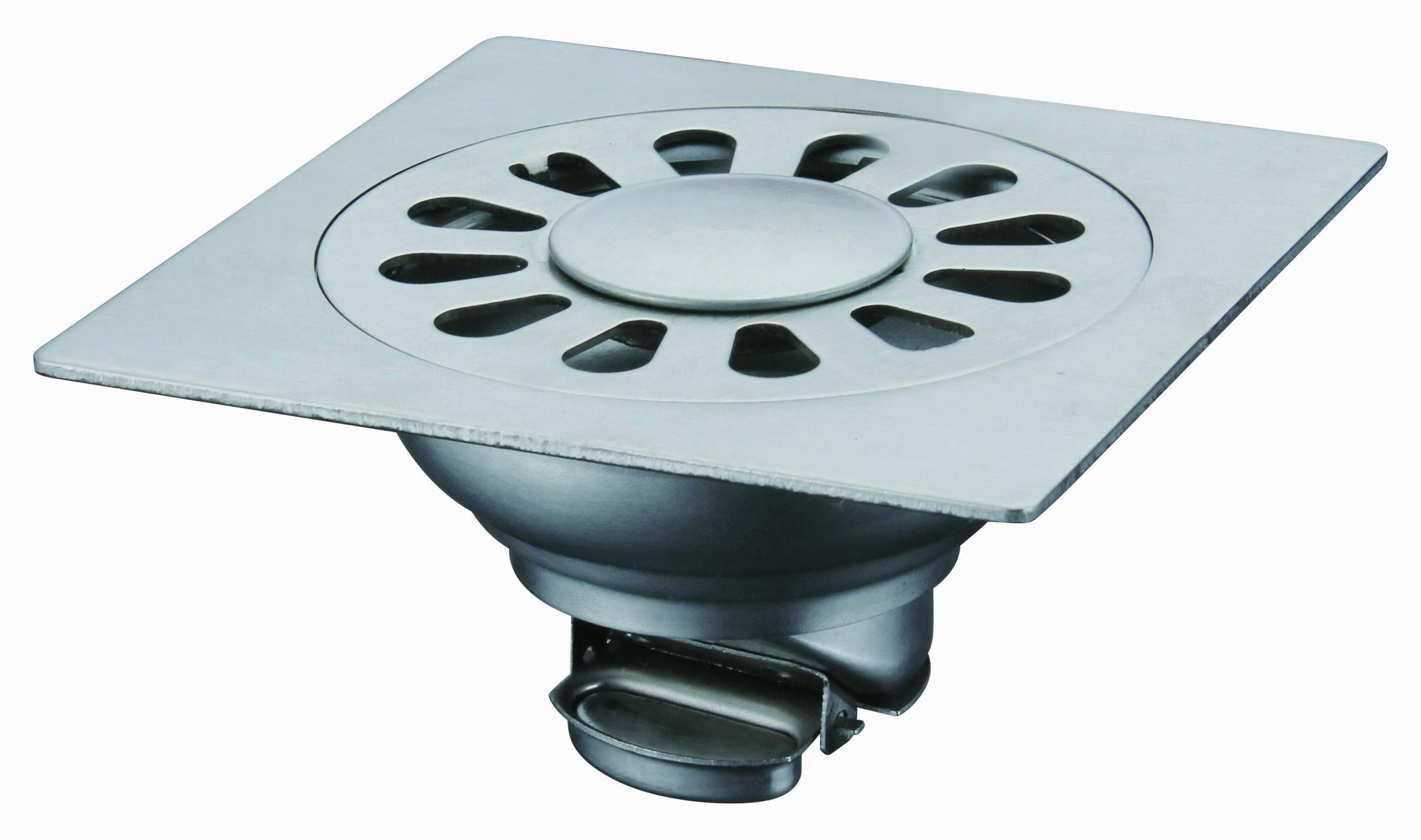 Accesorios de ba o de drenaje suelo lat n aleaci n de zinc for Precio de accesorios para bano