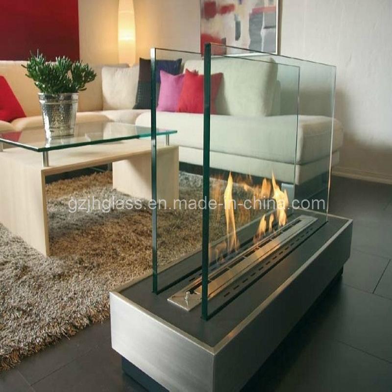 Dise o moderno vidrio de chimenea de vidrio de - Vidrios para chimeneas ...