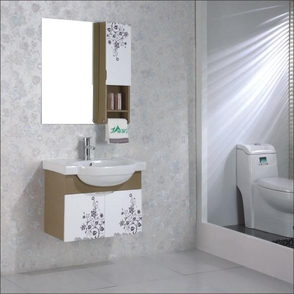 Armário de banheiro moderno do PVC (WL6617) –Armário de banheiro moderno do  -> Armario Para Banheiro Pvc
