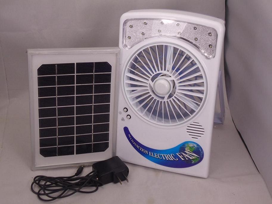 Ventilatore Con Pannello Solare : Ventilatore elettrico solare con il pannello