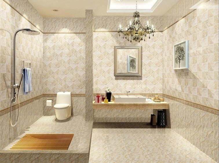 Tuiles 2015 en c ramique de salle de bains de lastest for Combien de metre carre pour une salle de bain