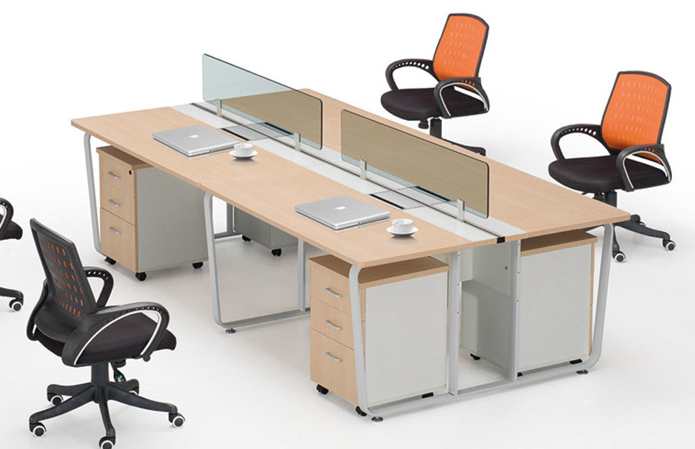 Poste de travail modulaire neuf de bureau de banc de for Bureau 4 postes de travail