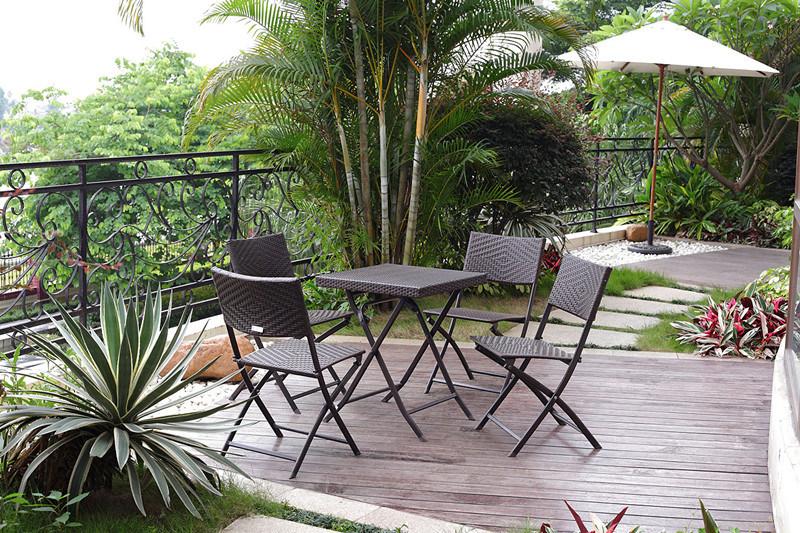 Ensemble dinant moderne ext rieur de meubles ext rieurs de - Meuble rotin exterieur ...