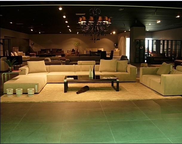 De het moderne meubilair van de woonkamer bank van de stof van de luxe af098 de het moderne - Eigentijdse bank ...