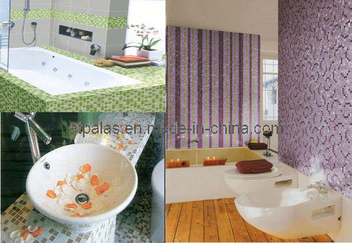 Azulejos de mosaico para el cuarto de ba o azulejos de - Azulejos mosaico bano ...