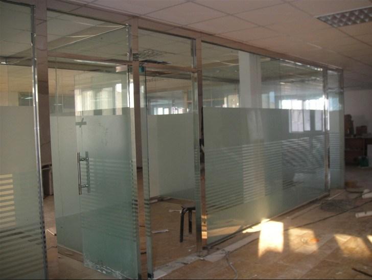 Pared de cristal del marco de aluminio para los edificios - Pared de vidrio ...