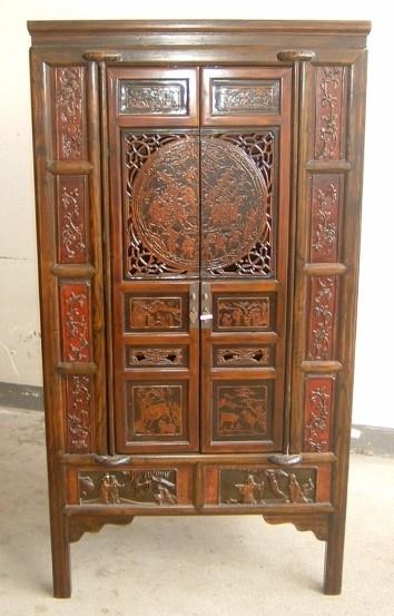 Cabinet chinois de portes des meubles 2 avec le d coupage for Meuble cabinet chinois