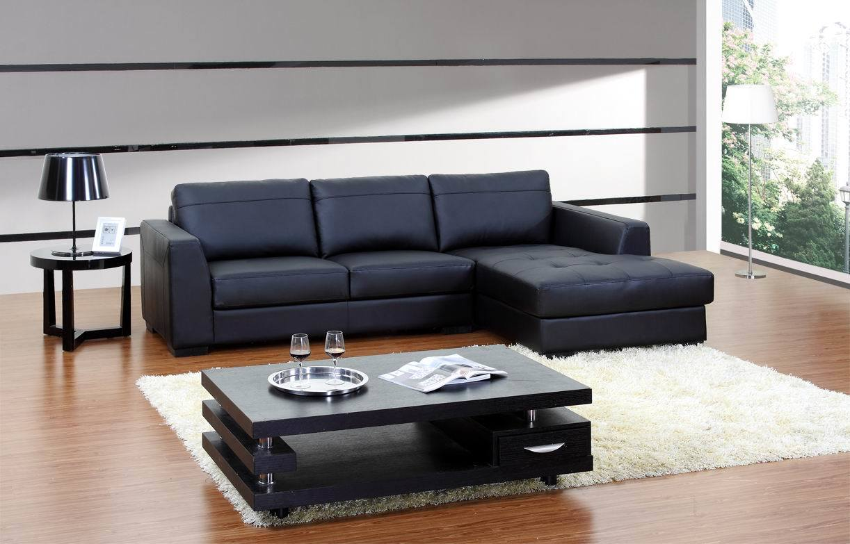 Amazing 30 Leather Sectional With Chaise