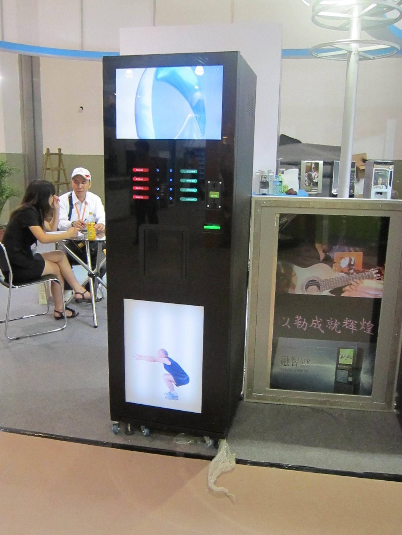 distributeur automatique de boissons de publicit lf306d 22g distributeur automatique de. Black Bedroom Furniture Sets. Home Design Ideas