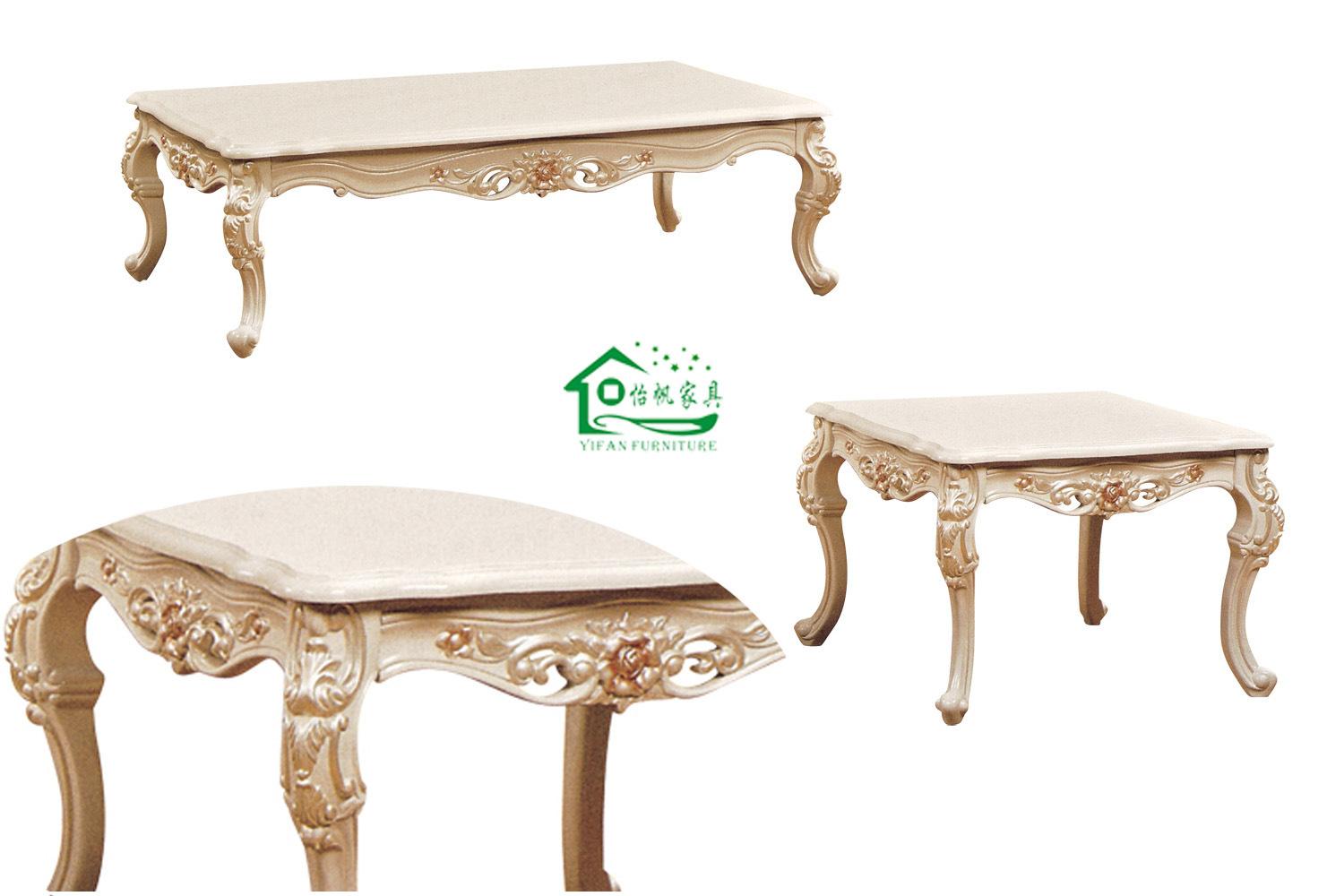 Tavolino da salotto di legno classico yf d15 tavolino for Tavolino salotto legno