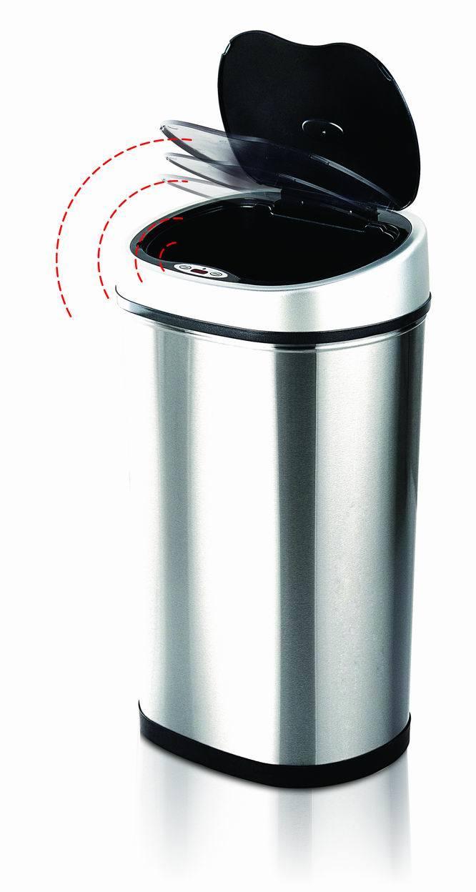Cubo de basura autom tico del sensor del acero inoxidable - Cubo de basura con sensor ...