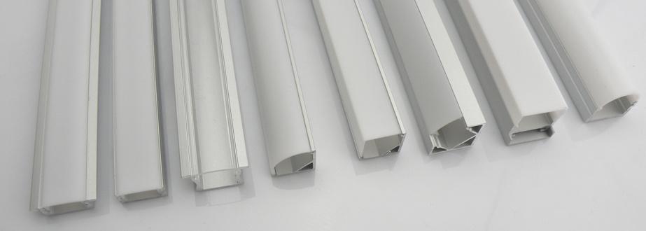 Kleine Badkamer Voorbeeld ~ Perfil de la tira del aluminio LED con el difusor opcional (HL BAPL001