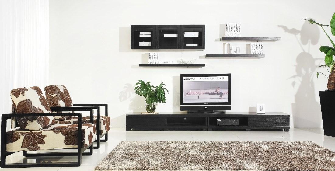 Gabinete de madera de la sala de estar contemporu00e1nea TV (LTV011 ...