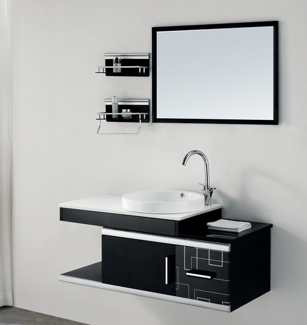 Cabinet de salle de bains de l 39 acier inoxydable 304 for Cabinet pour salle de bain