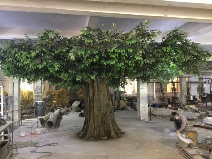 Foto de rbol artificial para la decoraci n de interior for Arbol artificial decoracion