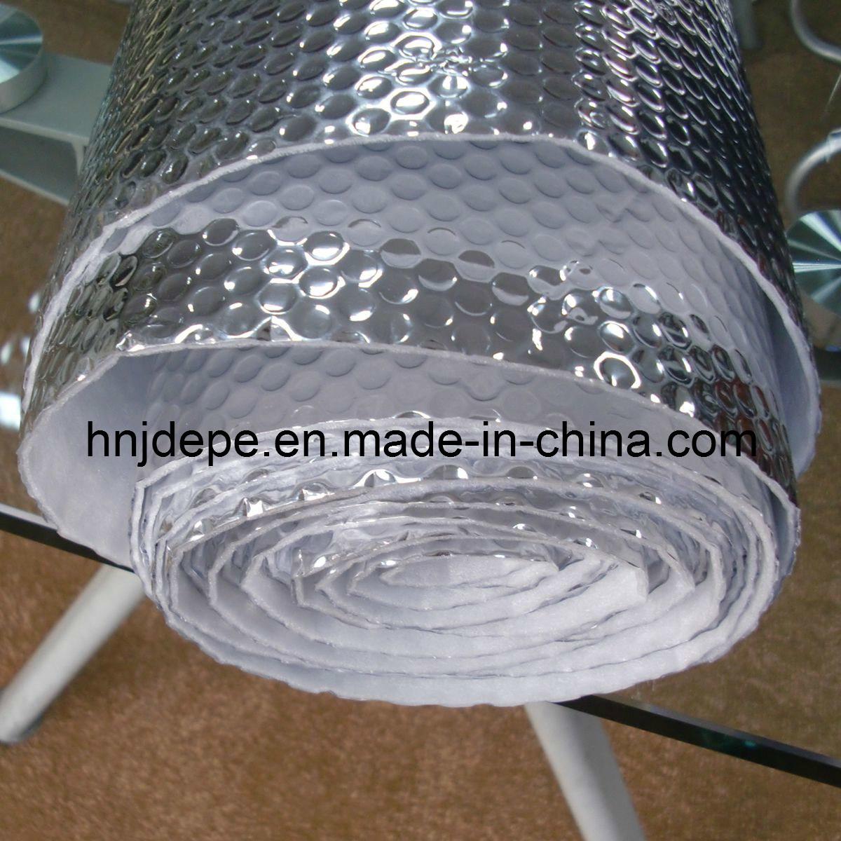 film en aluminium de bulle avec la mousse d 39 epe pour l 39 isolation de toit jdac04 film en. Black Bedroom Furniture Sets. Home Design Ideas