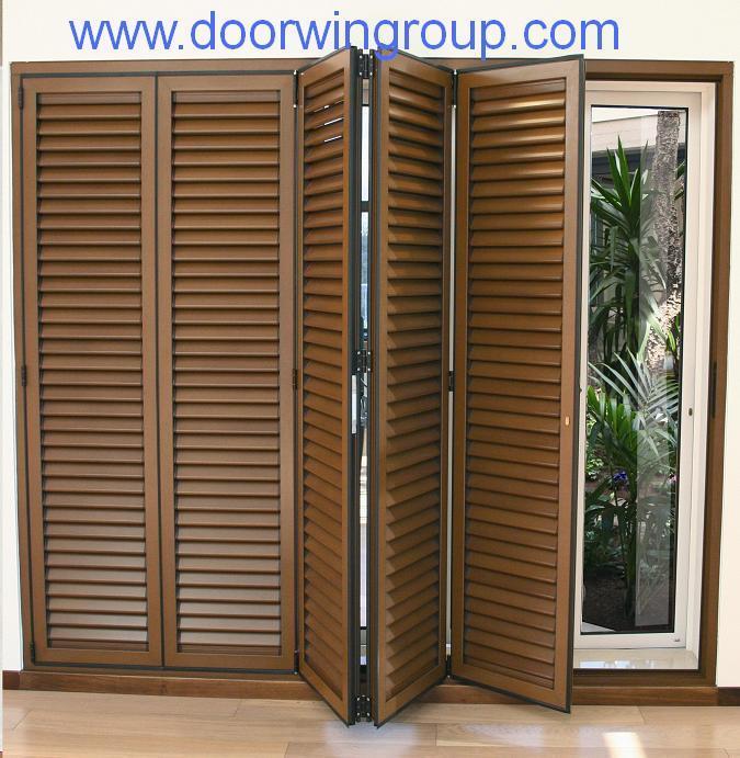 Puertas De Baño Tipo Acordeon:Puerta Bifold de aluminio del obturador/de la lumbrera – Puerta