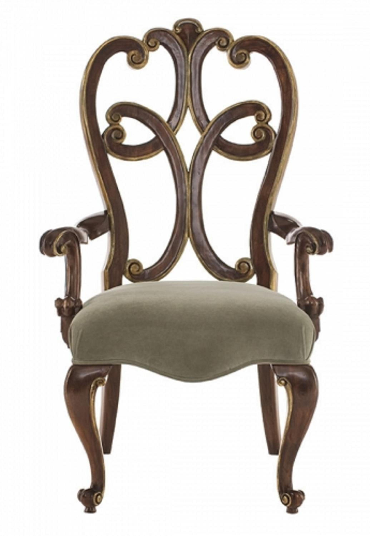 Foto de detr s silla casera tallada madera antigua del - Sillas antiguas de madera ...