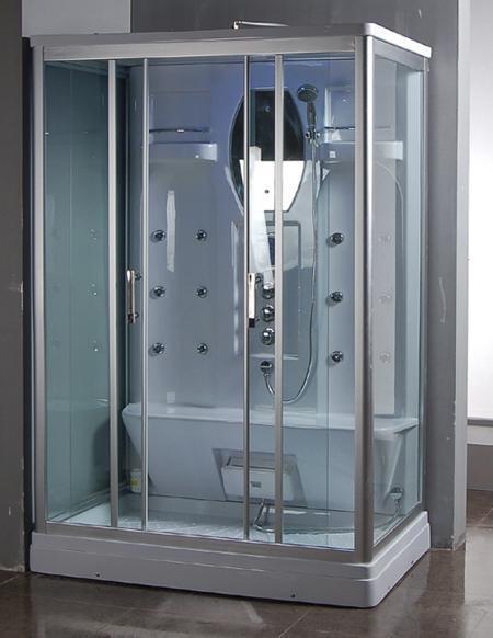 De zaal van de douche voor tweepersoons 9027 de zaal van de douche voor tweepersoons 9027 - Douchekamer model ...