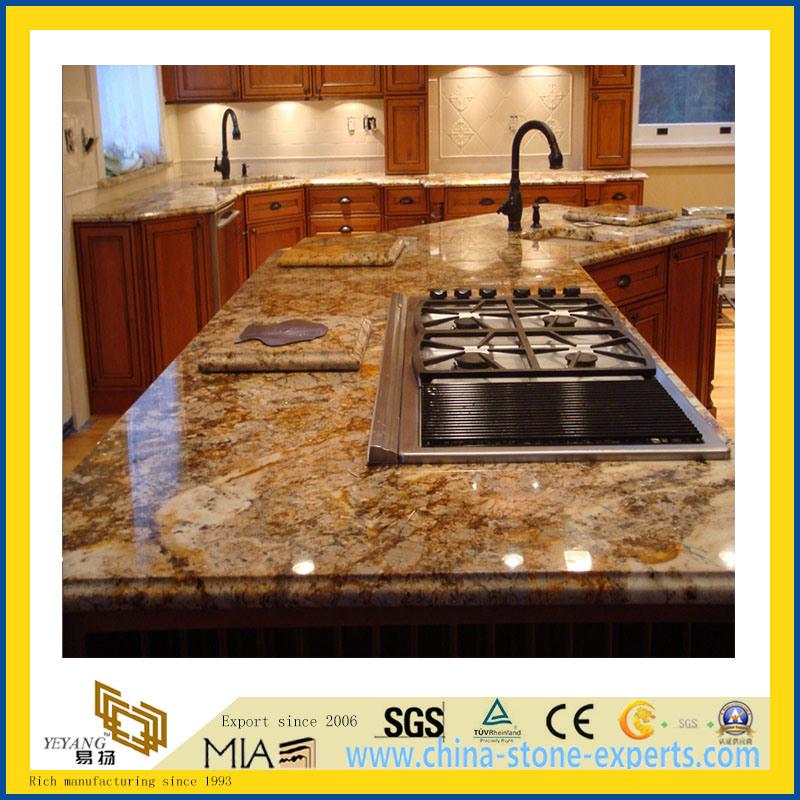 Foto de piedra natural pulido giallo cecifia granito para for Piedra de granito natural