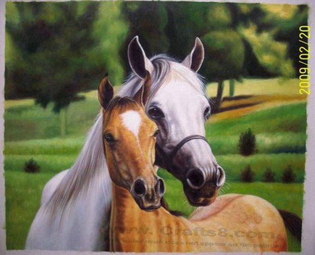 Aceite animal caballo pintura pinturas aceite animal - Pintura al aceite ...