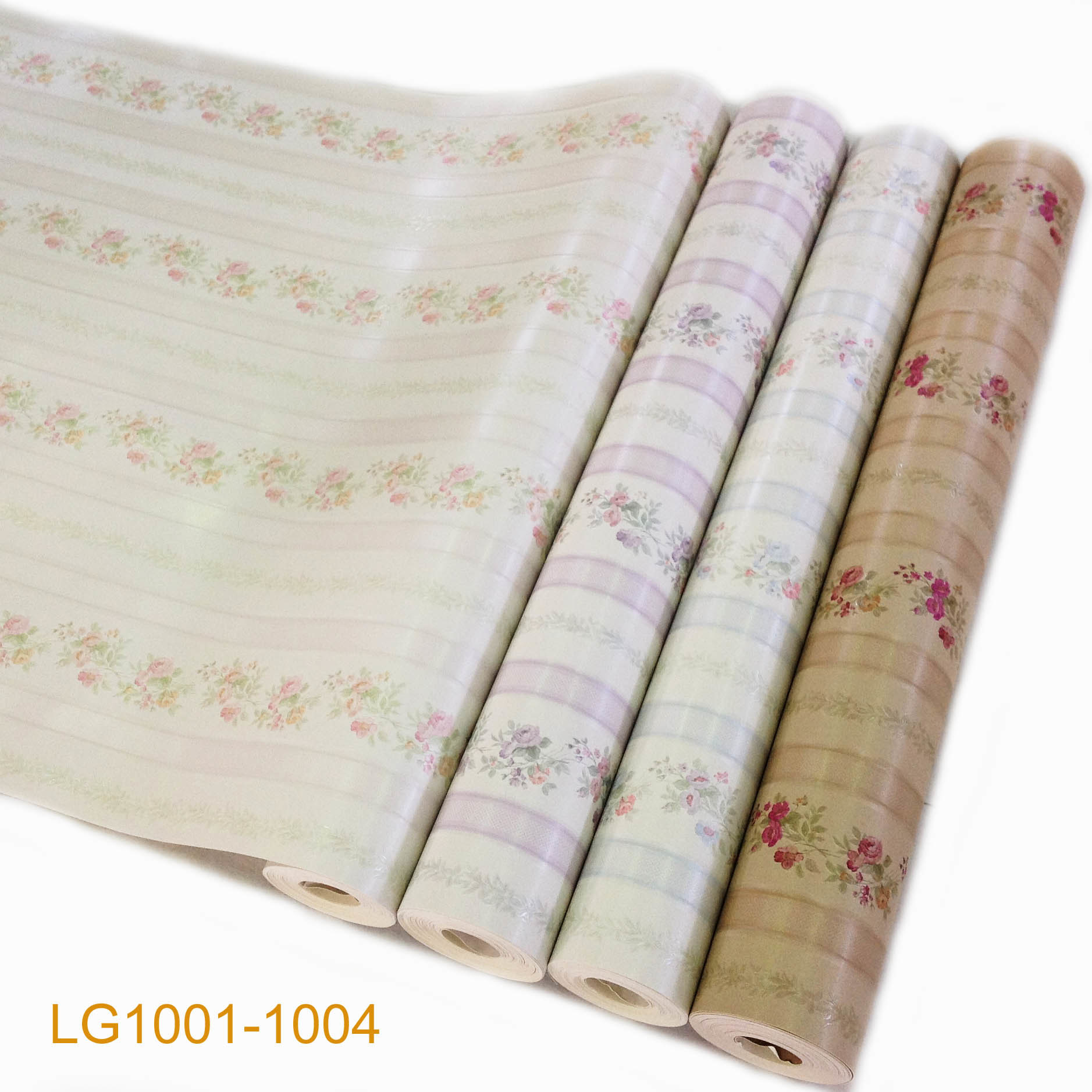 Papel pintado casero floral lavable ign fugo lg1001 1004 for Papel pared lavable