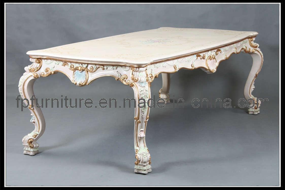 Italiaans klassiek meubilair italiaanse eettafel 0105ct italiaans klassiek meubilair - Dining barokke ...