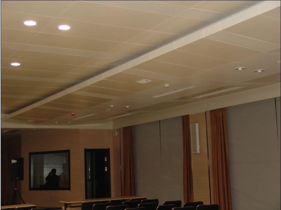 Falso techo suspendido de aluminio falso techo - Falso techo aluminio ...