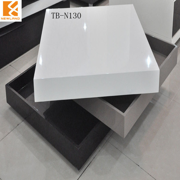 Tavolino da salotto moderno del mdf di lucentezza di for Arredamento made in china