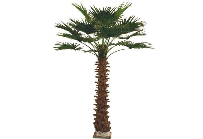 Palmier artificiel de 3m washingtonia 6004 300 palmier for Vente palmier artificiel