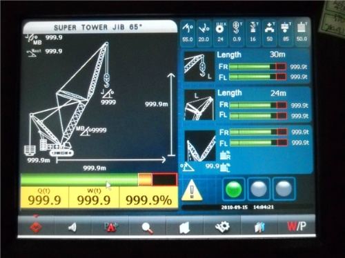 Load Moment Indicators For Cranes : 크롤러 crane load moment indicator t