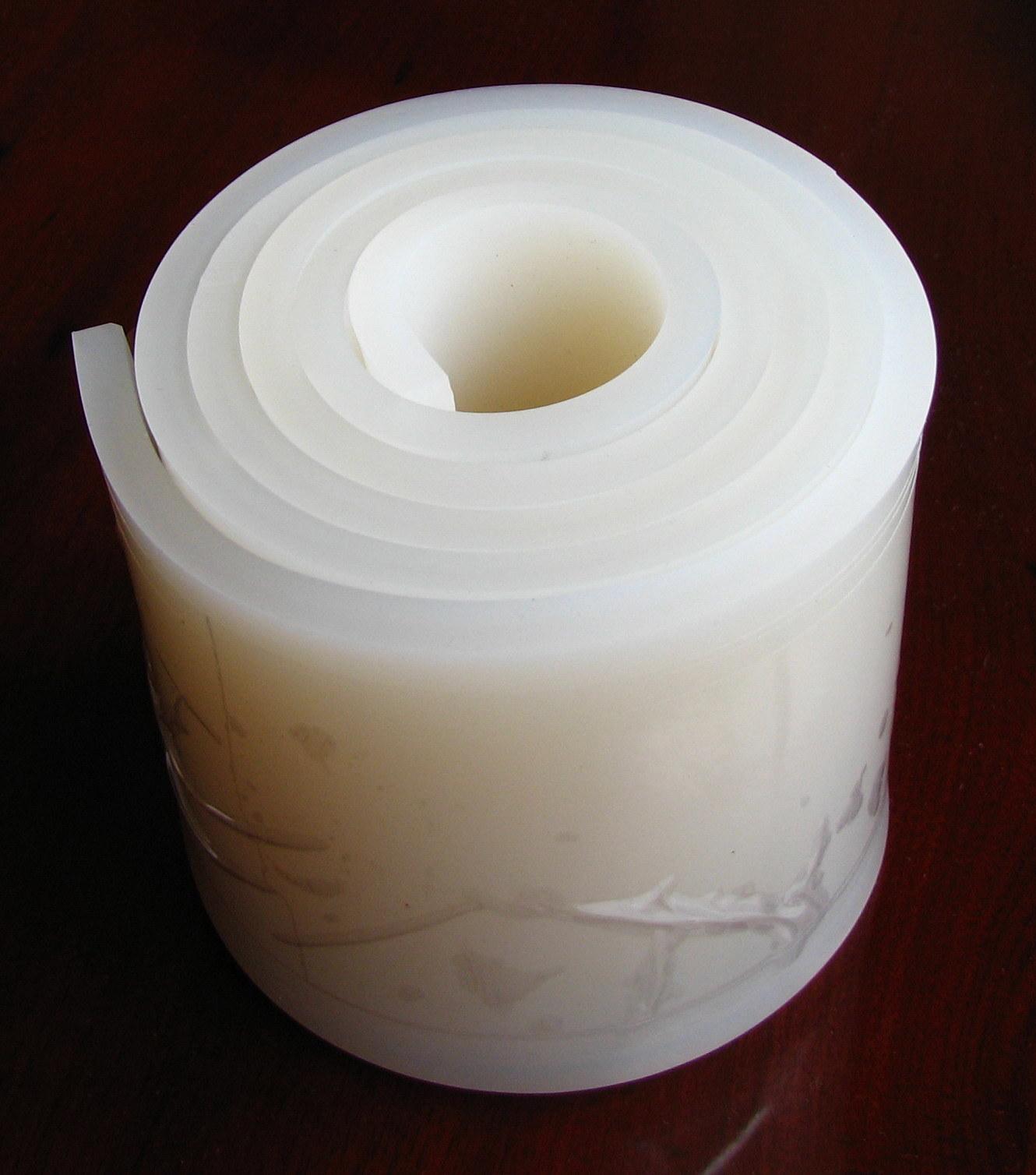 hoja de caucho de silicona hojas de silicona silicona
