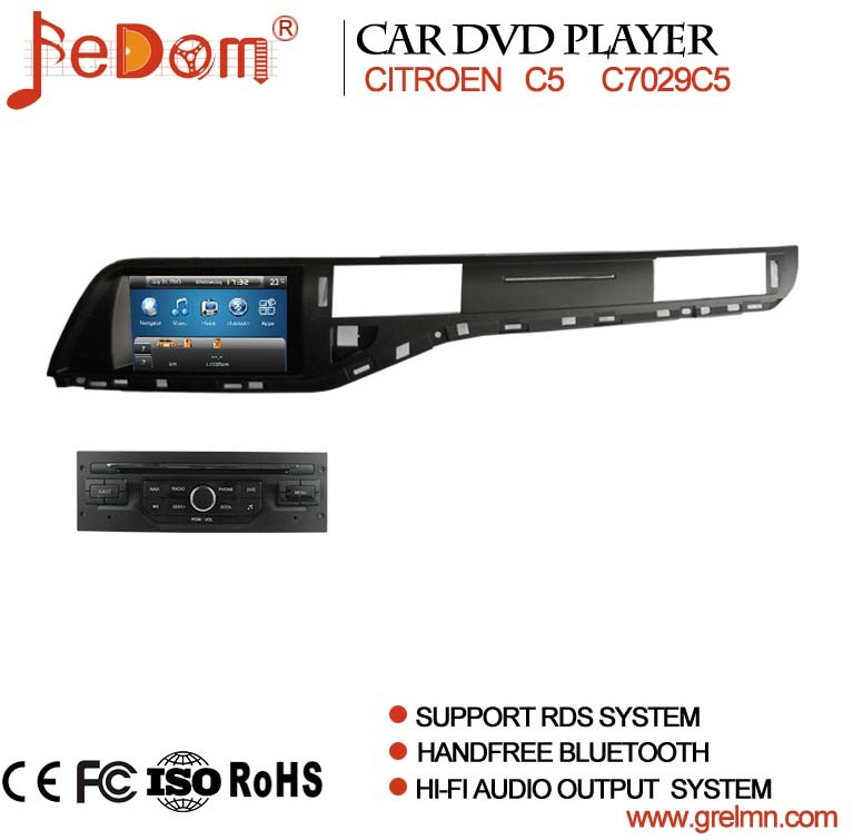 lecteur dvd de voiture de citroen c5 avec la navigation de gps lecteur dvd de voiture de. Black Bedroom Furniture Sets. Home Design Ideas