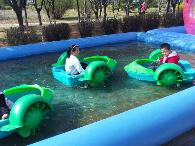 Piscina De Agua Inflable Para Los Parques Del Agua