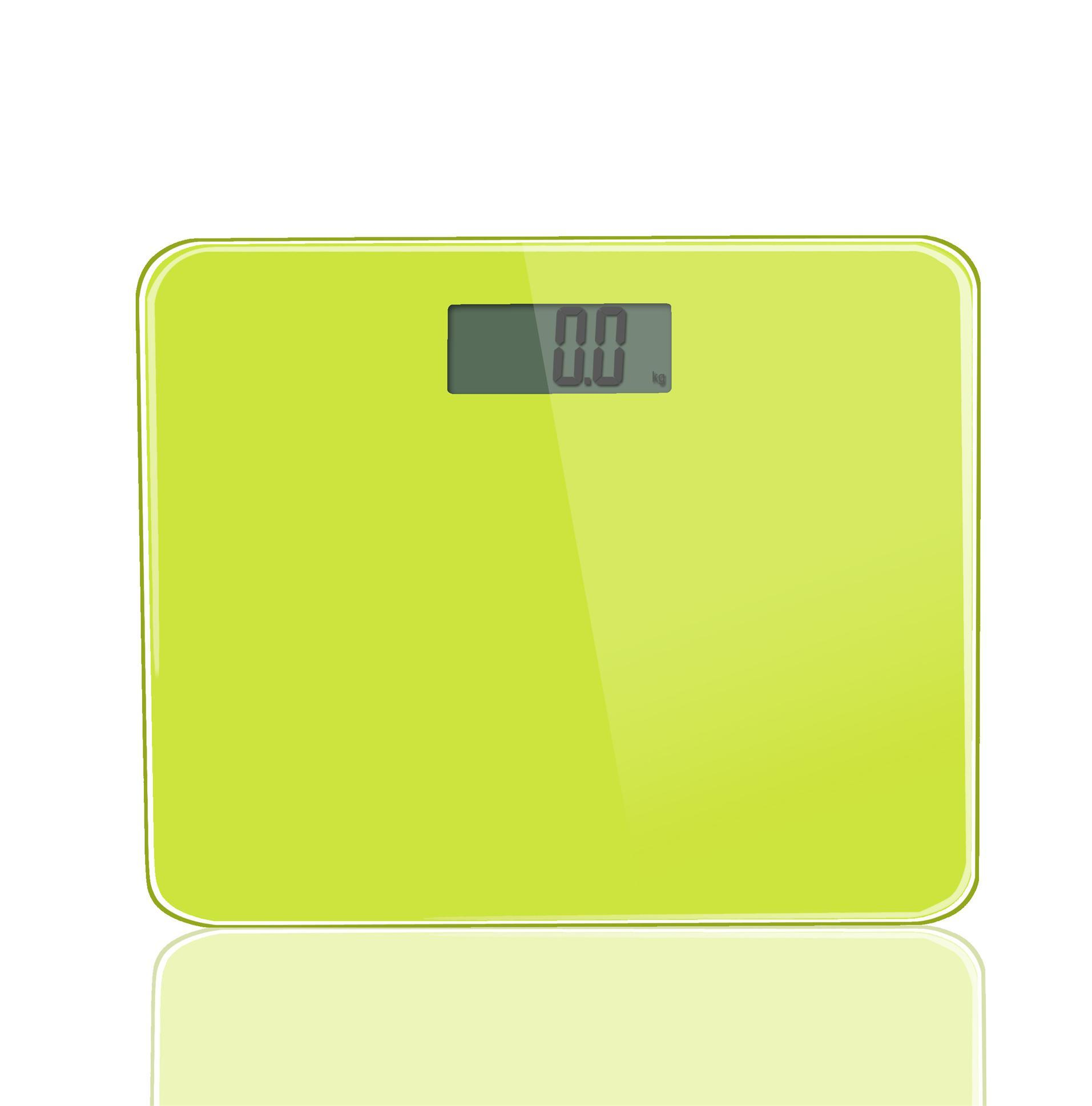 Thinner bathroom scale