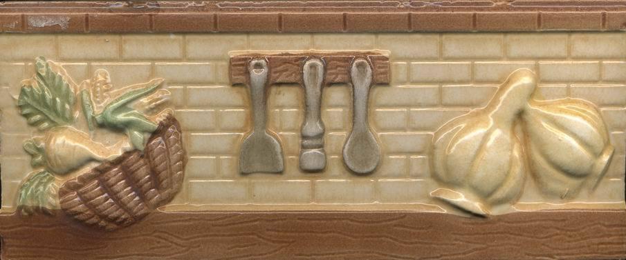 Mattonelle di ceramica del bordo di rilievo – Mattonelle di ceramica del bord...