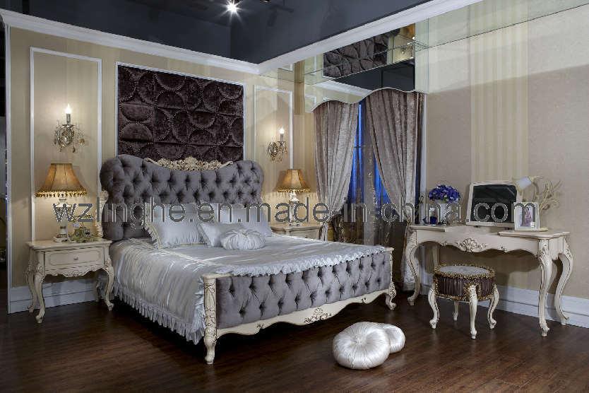 Chambre coucher en bois furniture de luxury pour la for Commande chambre a coucher