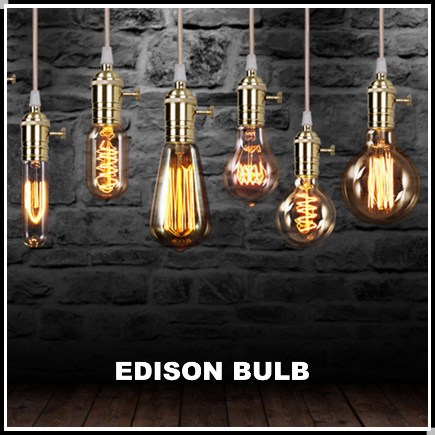 ampoule suspendue energy saving lampe edison retro lamp