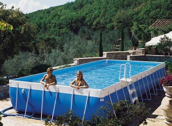 Adulte piscine piscine ultra frame bestway piscine for Piscine gonflable adulte