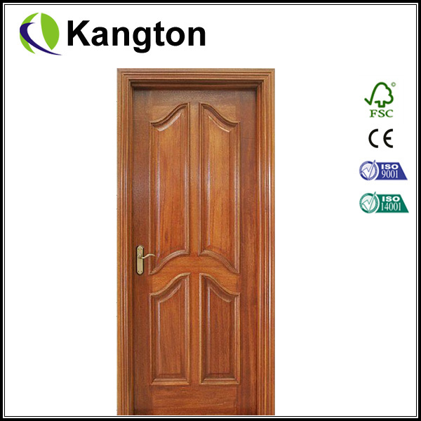 Porte d 39 entr e en bois d 39 acajou de peinture pleine porte - Peinture porte d entree ...