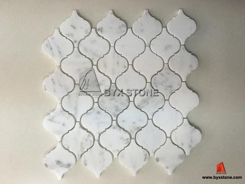 20170411&233749_Plak Mozaiek Badkamer ~   Witte Marmeren voor Badkamers en Keuken foto auf nl Made in China com