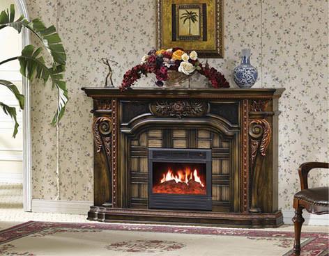 Chemin e lectrique pour la d coration et le chauffage la maison 630 che - Decoration pour cheminee ...