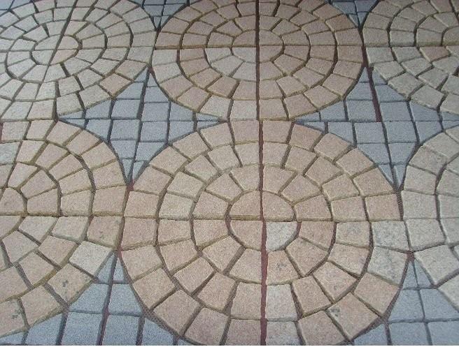 Piedra del adoqu n del granito piedra de pavimentaci n - Precio de adoquines de granito ...