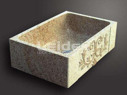 Fregadero de cocina del granito de la piedra del moho g682 - Fregadero de granito ...