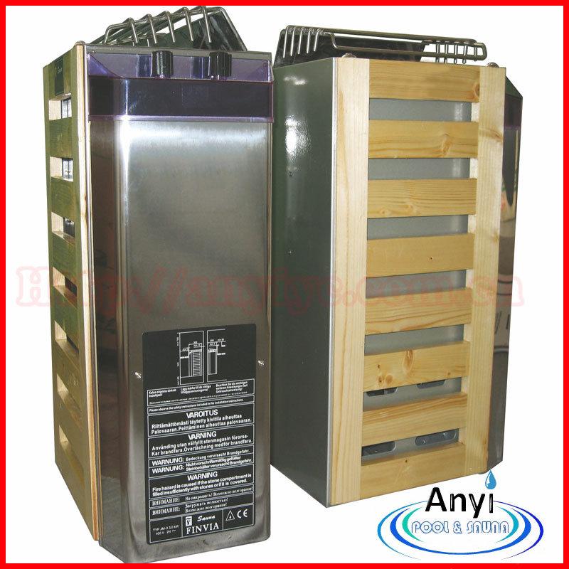 Mini calentador el ctrico de la sauna de 3 kilovatios del - Calentador para sauna ...