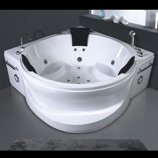 Luxueuse baignoire ronde int rieure de massage jacuzzi ry for Interieur de ronde