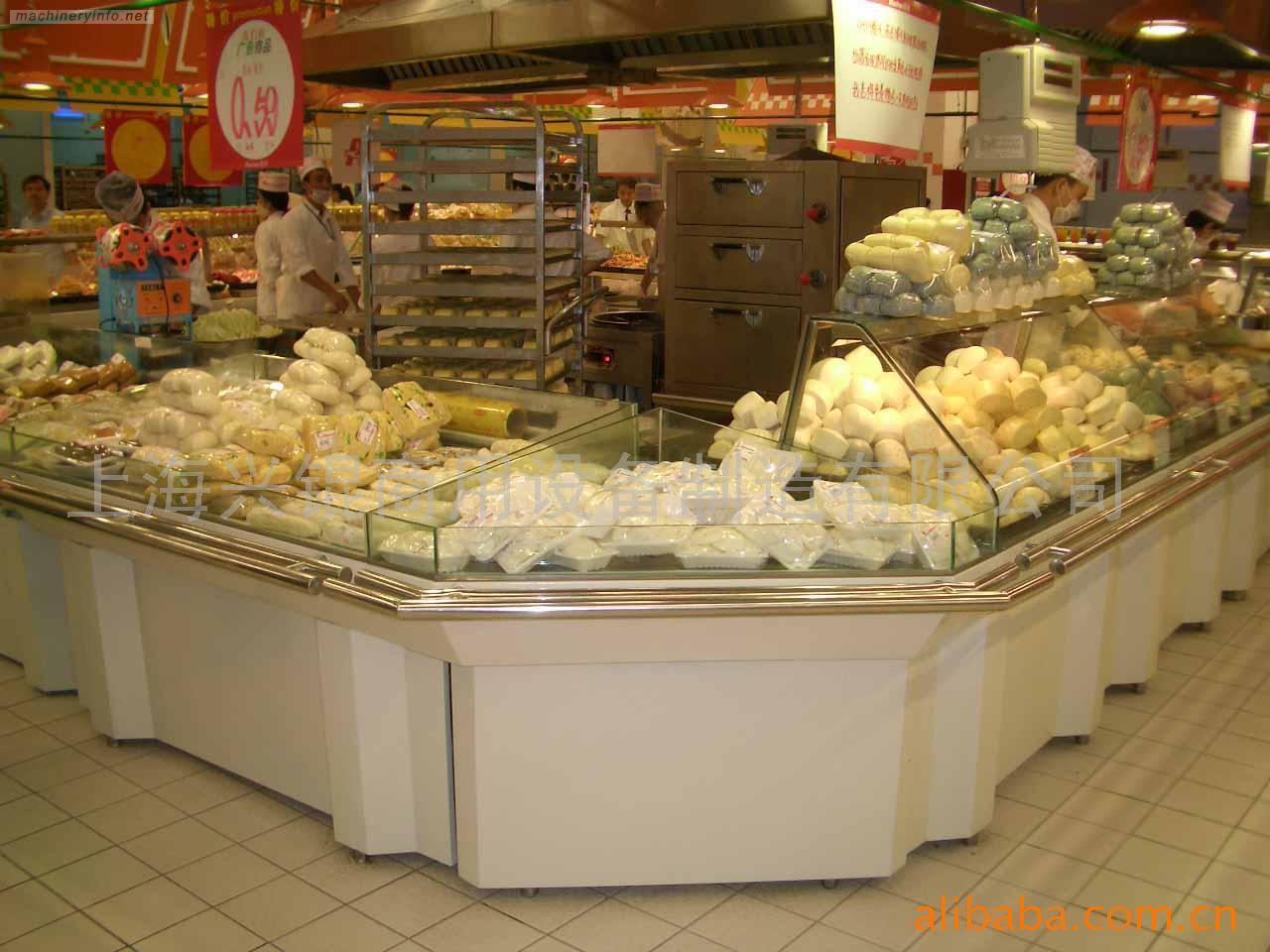 Partie sup rieure du comptoir de boulangerie et de for Equipement de cuisine commerciale