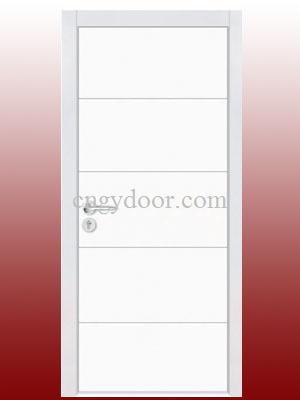 Puerta interior blanca del pvc gy kp240 puerta for Precios puertas interior blancas pvc