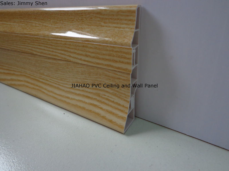 Contorno laminado da parede do pvc jx 121119 contorno for Placas de pvc para paredes