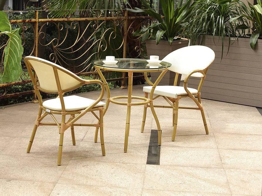 Rattan silla franc s para blstro cafeter a tienda rastaurant muebles de bamb bz sb003 - Sillas de bambu ...